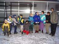 Orlomoňáci na páteční schůzce,2005