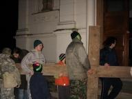 Křížová cesta, únor 2008