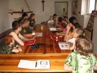 Schůzka oddílu, květen 2008