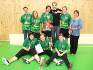 1.5.2010 Liga juniorek, Uherské Hradiště, celkové 2. místo v ČR